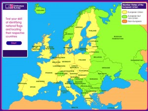Ilike2learn Europe Map Quiz.Form 1 Geography